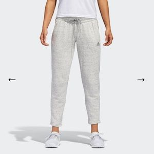 Adidas Slouchy Cropped Joggers ⛰ M
